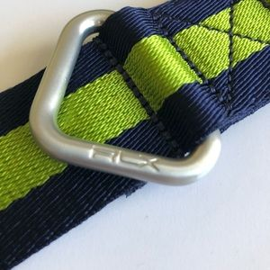 Ralph Lauren Accessories - Ralph Lauren RLX green and navy web belt! 4f7ad123ade